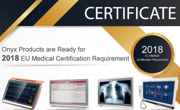 Onyx Products are Ready for   2018 EU Medical Certification Requirement