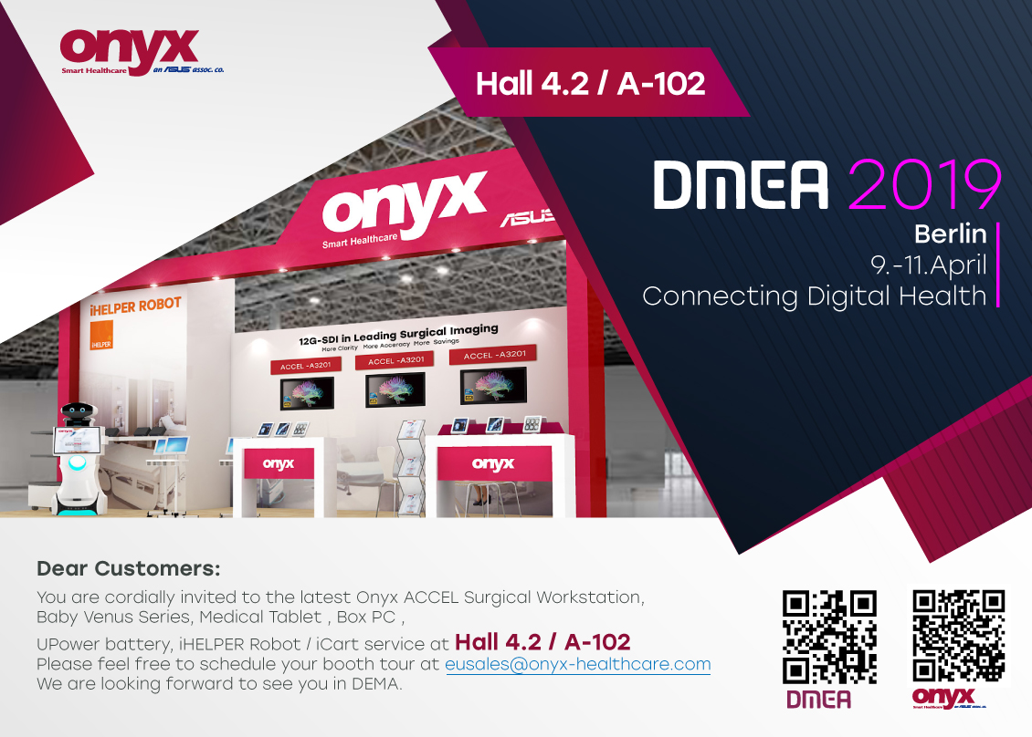 DMEA 2019 Berlin 9.-11.April Connecting Digital Health
