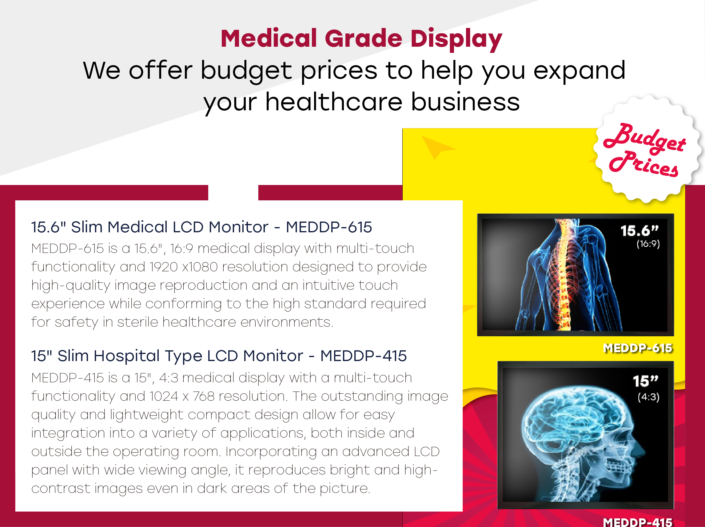 Medical Grade Display
