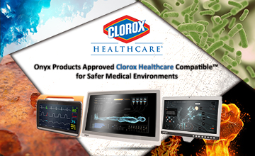 Onyx Products Approved Clorox Healthcare Compatible™  for Safer Medical Environments