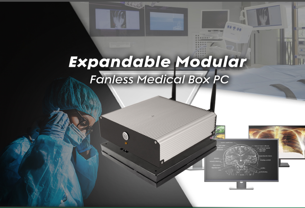 Expandable Modular Fanless Medical Box PC