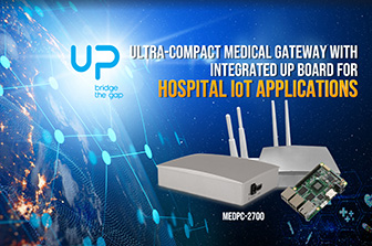 Ultra-Compact Medical Gateway with Integrated UP Board for Hospital IoT Applications