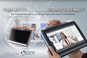 "Onyx MD116  Leading the way with Visionflex ""ProEX-Mobile"""
