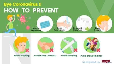 Bye Coronavirus !!  HOW TO PREVENT