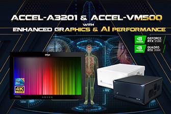 ACCEL-A3201 & ACCEL-VM500 with Enhanced Graphics & AI Performance