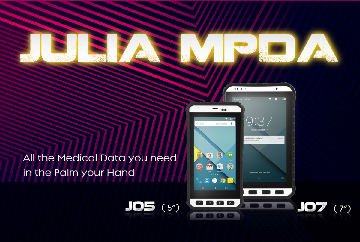 JULIA mPDA -All the medical data you need  in the palm of your hand